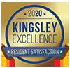 Kingsley 2020 award badge