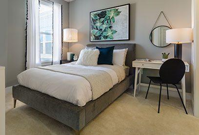 Bell Capitol Hill apartments bedroom